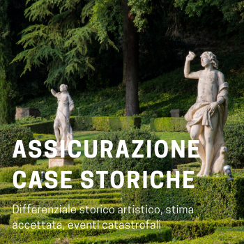 Assicurazione dimore storiche e patrimoni artistici