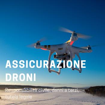Assicurazione droni Assigeco Torino