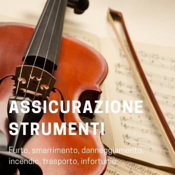 Assicurazione strumenti musicali e musicisti