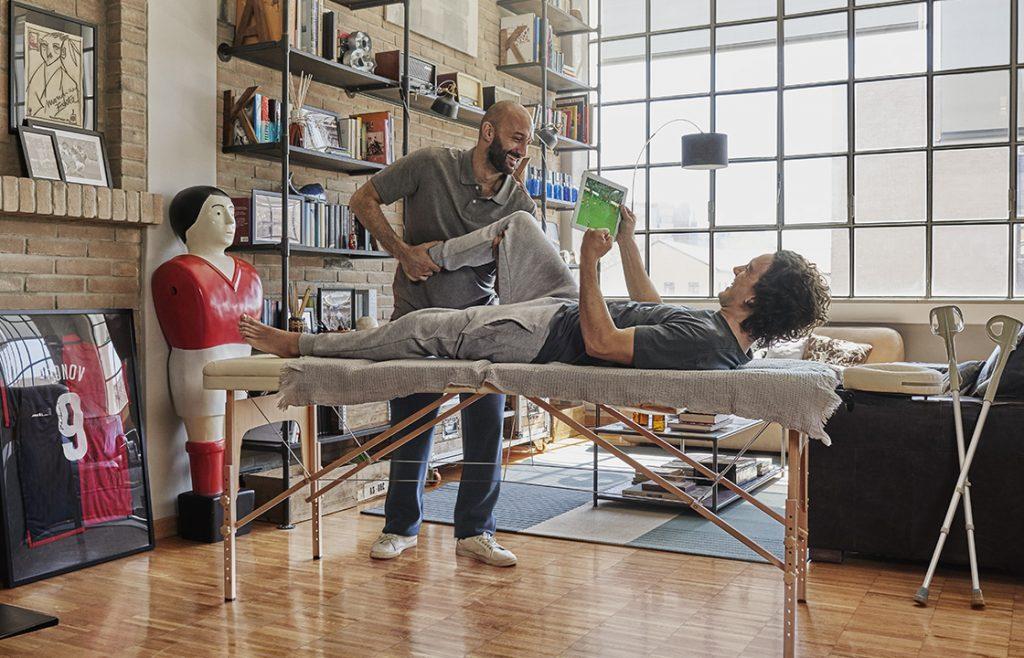 Assicurazione sanitaria Assigeco Torino: fisioterapista a domicilio