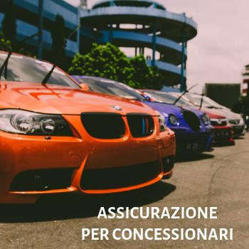 assicurazione per concessionarie auto